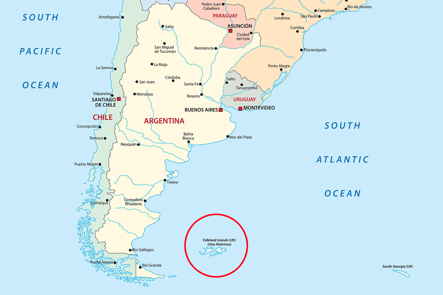 The importance of the Malvinas Islands to Brazil