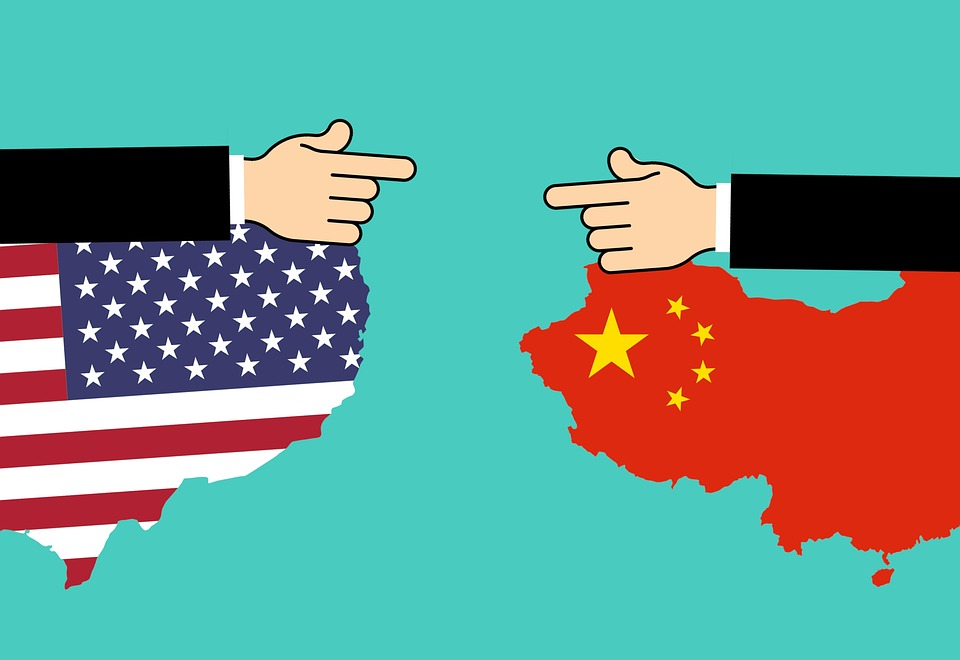 China vs United States = Covid-19 vs Deglobalization