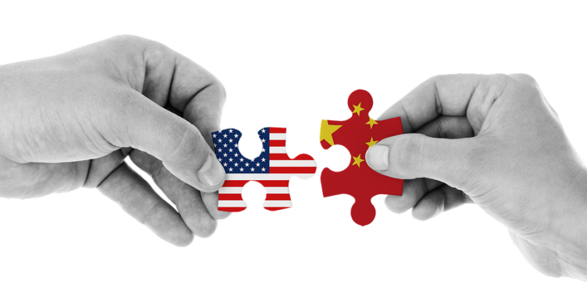 The increasingly strained relations between the USA and China