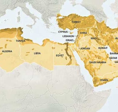 Changes in Middle Eastern Geopolitics