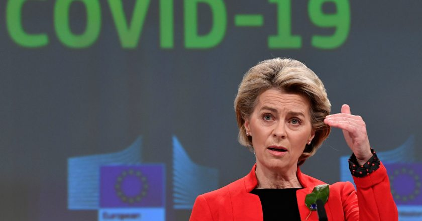 EU threat to halt the export of vaccines to the UK in an attempt to move forward with its own immunization campaign