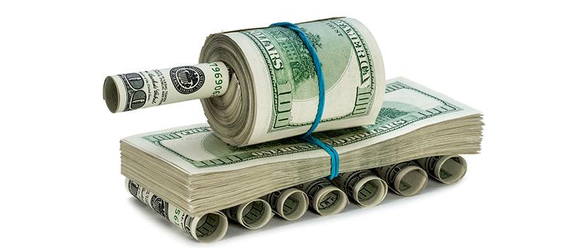 Os gastos mundiais com Defesa continuam crescendo, apesar da pandemia